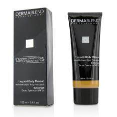 Dermablend Leg Body Buildable Liquid Body Foundation Sunscreen Broad Spectrum SPF 25 - #Tan Honey 45W 100ml