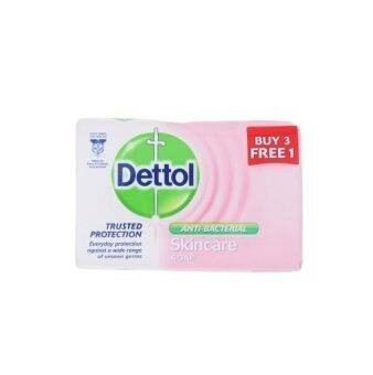 Harga Dettol Anti-Bacterial Skincare Soap 105g Buy 3 Free 1