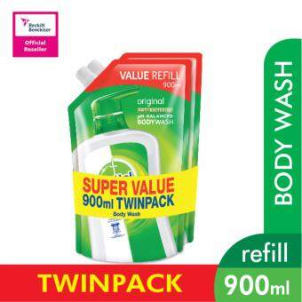 Harga Dettol Shower Gel Original Refill Pouch 900 ML Twin Pack
