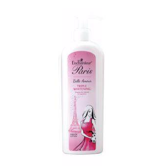 Harga Enchanteur Paris Hand and Body Lotion - Belle Amour TripleWhitening (300ml)