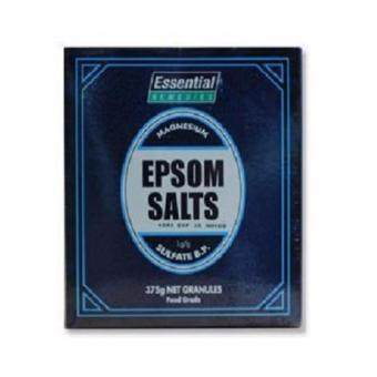 ESSENTIEL EPSOM SALTS 375G GRANULES FOOD GRADE