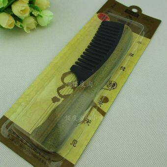 every day, see Yu Tan horn comb green sandalwood comb horn ebony comb 210A wide tooth comb
