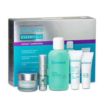 Exuviance Essentials 5-Piece Skincare Set (For Normal and Combination Skin) 1set, 5pcs