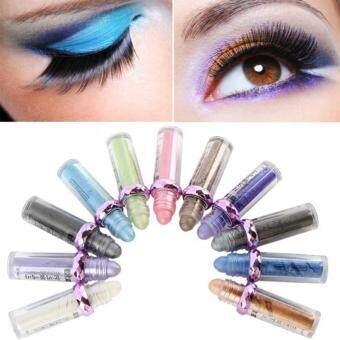 Fantastic Flower 11 Color Professional Fluorescence Eyeshadow Palette Makeup Matte Eye Shadow Eye Massage Makeup Beauty Accessories-Color #07