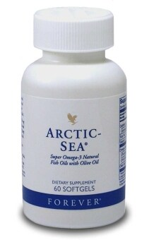 Harga Forever Arctic-Sea Omega-3 (60 Softgels) FREE DELIVERY