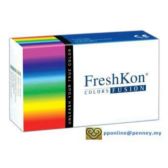 Harga Freshkon - Color Fusion Sparklers Monthly Contact Lenses *-0.75 (2lenses/box)