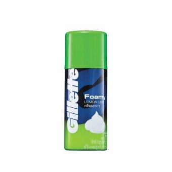 Harga GILLETTE Foamy Shaver Lemon Lime 175G