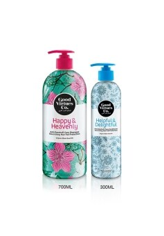 Harga Good Virtues Co Anti Dandruff Shampoo and Conditioner