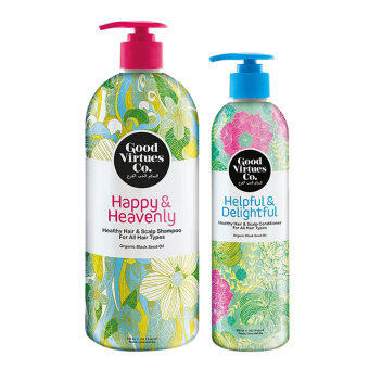 Harga Good Virtues Co Healthy Hair Shampoo and Conditioner