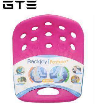 GTE Ergonomic BackJoy Sitting Cushion - Recommended for All Ages - One Size Fits All - Posture Plus - Pink