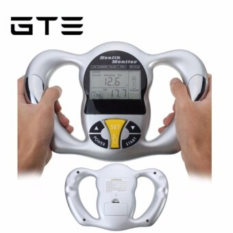 Harga GTE Portable Digital Handheld Body Mass Index Electronic Human BMI Body Fat Analyser Health Monitor