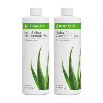 Harga Herbalife Herbal Aloe Concentrate Mix Twin Pack
