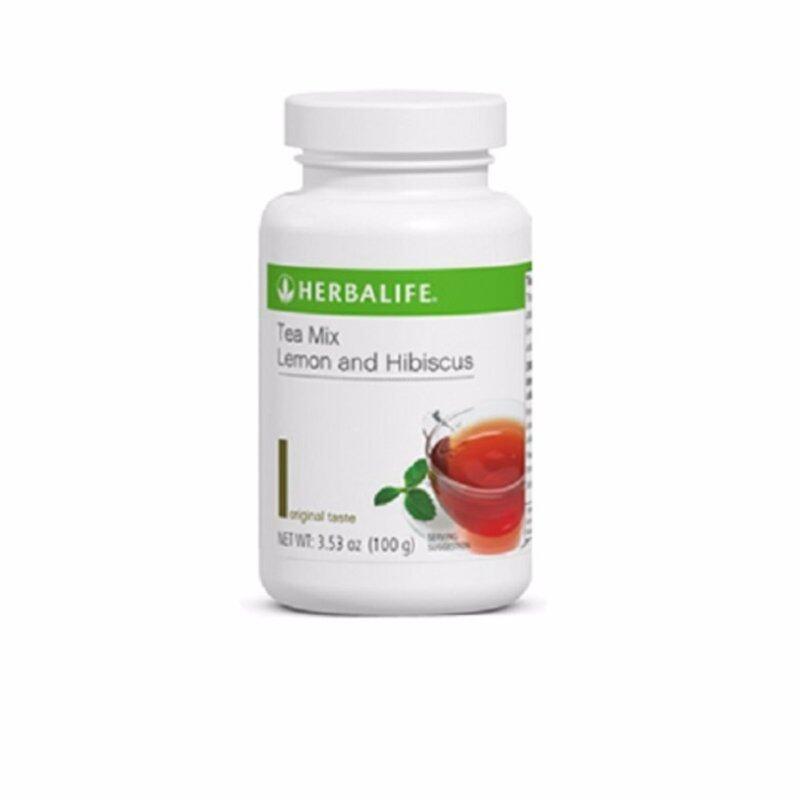Herbalife Lemon & Hibiscus Tea 100g (Tea Colour) Malaysia