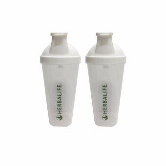 Harga Herbalife Shaker Cup 500ml (Transparent White- 2 Units)