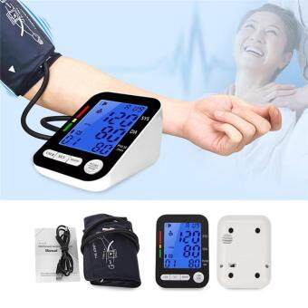 High Accuracy DC 5V 5W Health Care Automatic Digital LCD Upper ArmBlood Pressure Monitor Heart Beat Meter Machine for Patient TestingOutpatient Medical