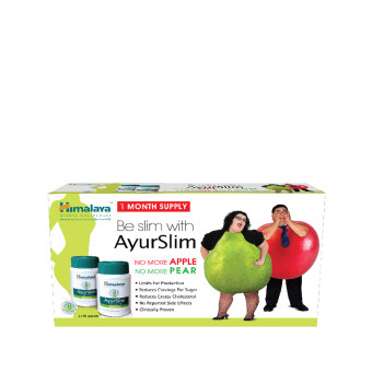 HIMALAYA Himalaya Herbal Healthcare Ayurslim 2X60S