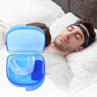 Hot Sale Silicon Stop Snoring Nose Clip Anti Snore Sleep Apnea HelpAid Device Tray (Color: Transparent)