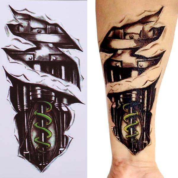 100pcs Waterproof Tattoo Stickers: Buy sell online Body with cheap price - intl