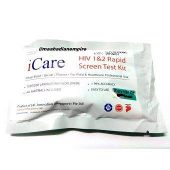 Harga iCare HIV Test Kit ISO 13485 & GMP Certifications WHO TestStandard