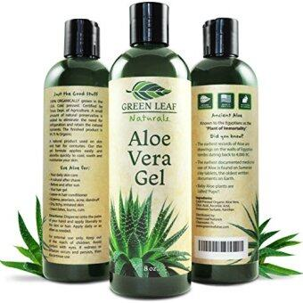 Harga Green Leaf Naturals Aloe Vera Gel for Skin, Face and Hair, -Ounce