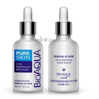 Harga Acne Scar Spots Pimple BIOAQUA Face Care Acne Treatment Acne Scar Removal Cream - Acne Spots Whitening Moisturizing Essential Oil 30ML - Skin Care Male Female -