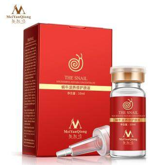 Harga High Quality Snail 100% pure plant extract Hyaluronic acid liquid whitening blemish serum ampoules anti-acne Rejuvenation Serum