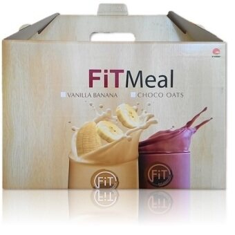 Harga PHHP VALUE PACK OF 4 FITLOSOPHY FITMEAL (CHOCO OAT) (SLIMMING/ LOSE WEIGHT) (HALAL)