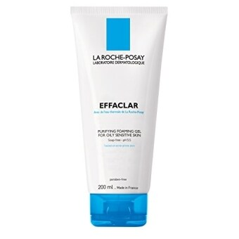 Harga La Roche-Posay Effaclar Purifying Foaming Gel Cleanser with Zinc for Oily Skin, Oil-Free, 6.76 Fl. Oz.