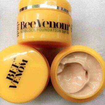 Harga Bee Venom Sunblock foundation SPF60