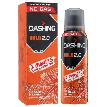 Harga Dashing Deo Spray-Bold Adv (Repackage) 150ml
