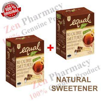 Harga Equal Natural Stevia 40'Sx 2Box(Natural Sweetener for Diabetes)