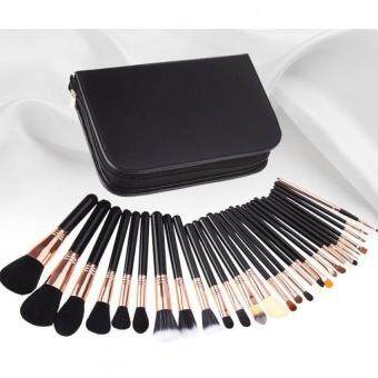 Harga Professional Complete 29PCS Makeup brush set brushes,Eye Shadow Brush, Brush Foundation Make up Blush Brush, Eyebrow Brush, Lip Brush,Zipper cosmetic brush pack bag