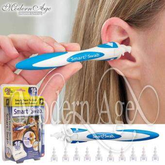 Harga Modern Age Smart Swab Easy Earwax Removal Soft Spiral Ear Cleaner