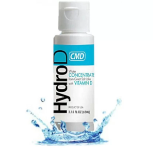 Harga NEW CMD HYDRO D Concentrated Mineral Drops Great Salt Lake With Vit D 120 ml