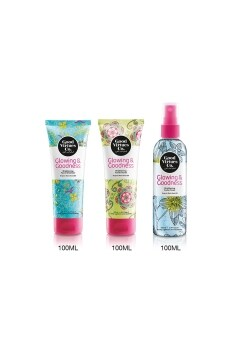 Harga Good Virtues Co Face Clean+Scrub+Toner