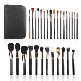 Harga Professional Complete 29PCS Makeup brush set brushes,Eye Shadow Brush, Brush Foundation Make up Blush Brush, Eyebrow Brush, Lip Brush,Zipper cosmetic brush bag