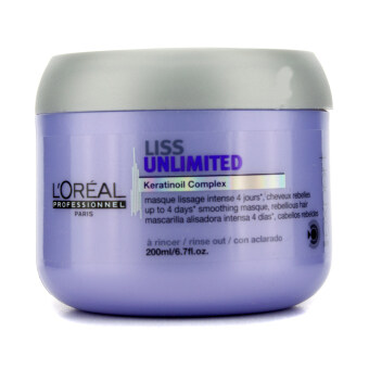 Harga L'Oreal Professionnel Expert Serie - Liss Unlimited Smoothing Masque (For Rebellious Hair) 200ml/6.76oz