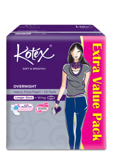 Harga Kotex Overnight Extra Long 32cm Wing 30s Pro Active Guard