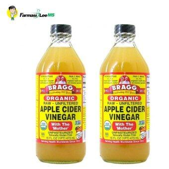 Harga Bragg Organic Apple Cider Vinegar 946ml - 2 bottles