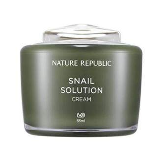 Harga Nature Republic Snail Solution Cream 55ml