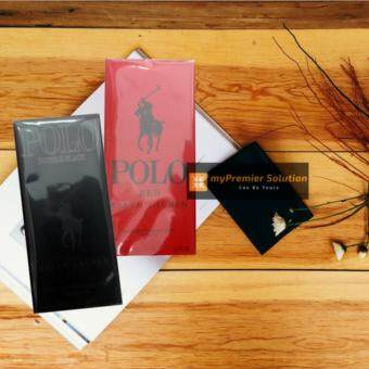 Harga Polo Pocket Perfume 2 Pieces - Polo Red & Polo Double Black ( 20 ml per bottle)