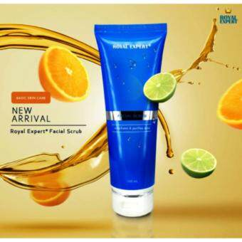 Harga ORIGINAL ROYAL EXPERT FACIAL SCRUB 100ML+FREE POSTAGE