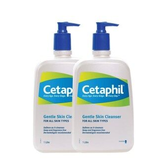 Harga Cetaphil Gentle Skin Cleanser 1L (Twin Pack)
