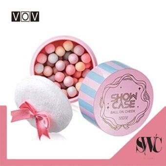 Harga VOV Ball On Cheek 2 Color 12g #1. Bebe Pink