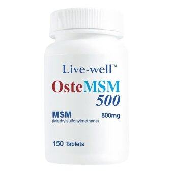 Harga Live Well Oste Msm 500Mg 150T