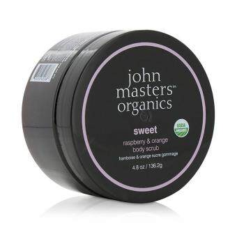 Harga John Masters Organics Sweet Raspberry & Orange Body Scrub 136.2g