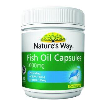 Harga Nature's Way Odorless Fish Oil 1000mg 200's