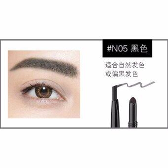 Harga MAXDONA 3 in 1 Eyebrow Pencil - Code 05 BLACK