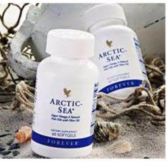 Harga Forever living arctic sea Natural fish oil with Olive oil (2x60 softgels) - Original Natural Centre