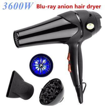 Harga 3600W Hair Dryer High-Power Hot/Cold Wind Pro 5 Free Nozzles Styling Tools Salons Hair Drier For Home&Salon